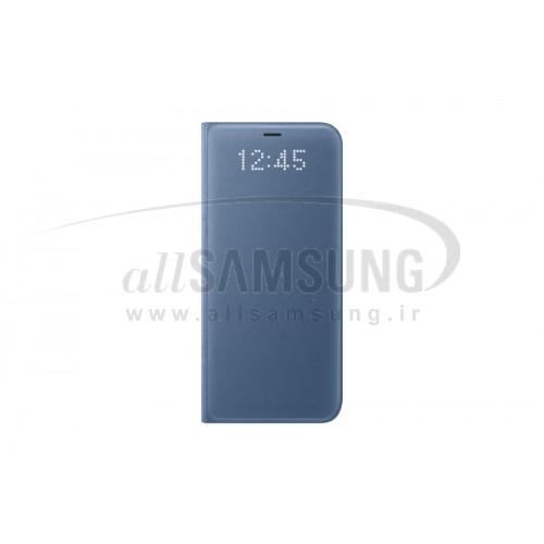 گلکسی اس 8 پلاس سامسونگ ال ای دی ویو کاور آبی Samsung Galaxy S8+ LED View Cover Blue EF-NG955PL