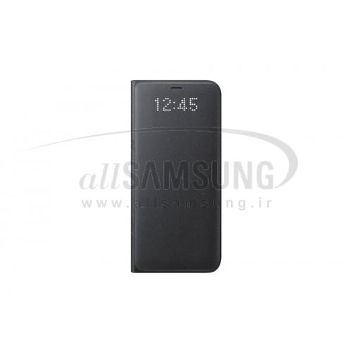 گلکسی اس 8 سامسونگ ال ای دی ویو کاور مشکی Samsung Galaxy S8 LED View Cover Black EF-NG950PB
