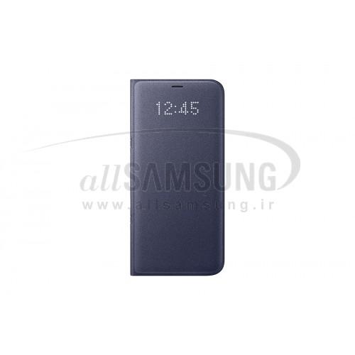گلکسی اس 8 سامسونگ ال ای دی ویو کاور بنفش Samsung Galaxy S8 LED View Cover Violet EF-NG950
