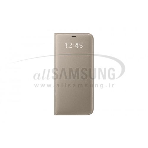 گلکسی اس 8 سامسونگ ال ای دی ویو کاور طلایی Samsung Galaxy S8 LED View Cover Gold EF-NG950
