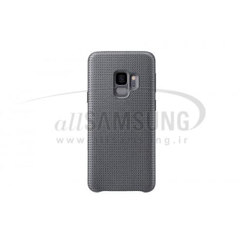 گلکسی اس 9 سامسونگ هایپرنیت کاور خاکستری Samsung Galaxy S9 Hyperknit Cover EF-GG960F Gray
