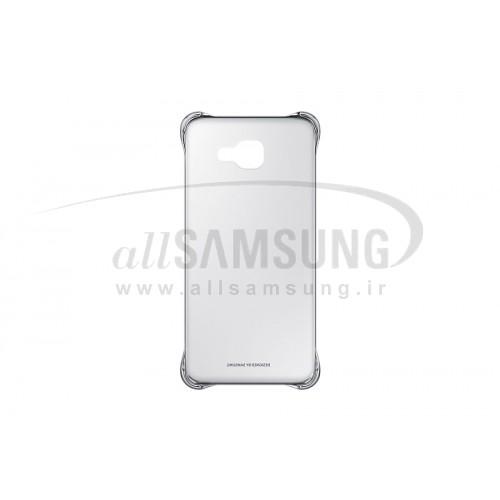گلکسی ای 7 2016 سامسونگ کلیر کاور نقره ای Samsung Galaxy A7 2016 Clear Cover Silver