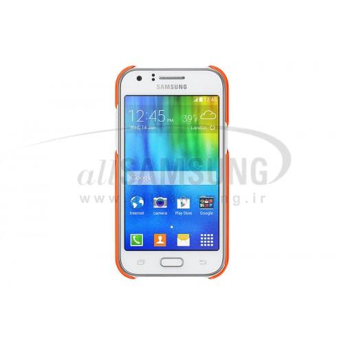 گلکسی جی 1 سامسونگ پروتکتیو کاور نارنجی Samsung Galaxy J1 Protective Cover Orange