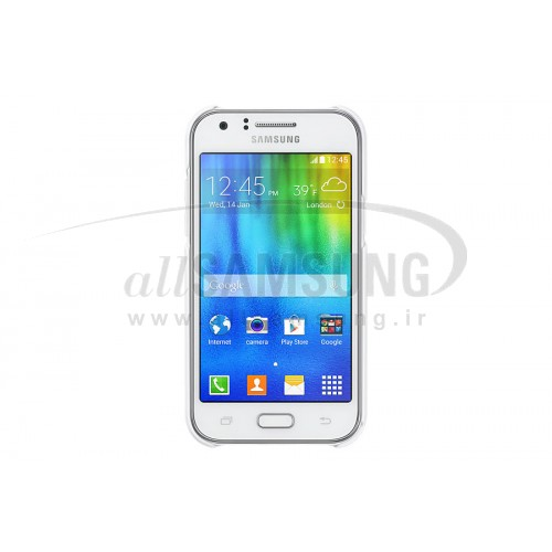 گلکسی جی 1 سامسونگ پروتکتیو کاور سفید Samsung Galaxy J1 Protective Cover White