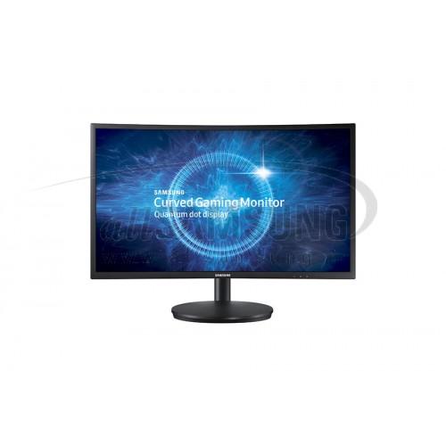 مانیتور بازی سامسونگ 24 اینچ منحنی با تکنولوژی کوانتوم دات Samsung 24 Curved Gaming Monitor C24FG70