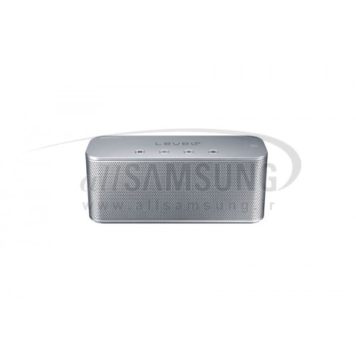 اسپیکر سامسونگ لول باکس مینی وایرلس بلوتوث نقره ای Samsung Level Box mini Wireless Bluetooth Speaker Silver