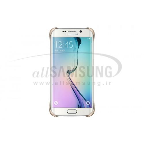 گلکسی اس 6 اج سامسونگ پروتکتیو کاور طلایی Samsung Galaxy S6 Edge Protective Cover Gold