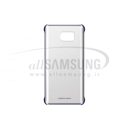 گلکسی نوت 5 سامسونگ کلیر کاور مشکی Samsung Galaxy Note5 Clear Cover Black