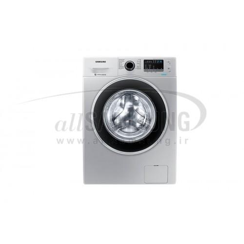 ماشین لباسشویی سامسونگ 8 کیلویی Q1256 تسمه ای نقره ای Samsung Washing Machine 8kg Q1256 Silver