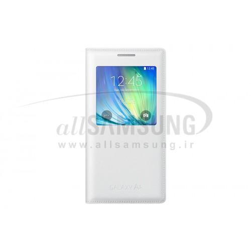 گلکسی ای 5 سامسونگ اس ویو کاور سفید Samsung Galaxy A5 S View Cover White