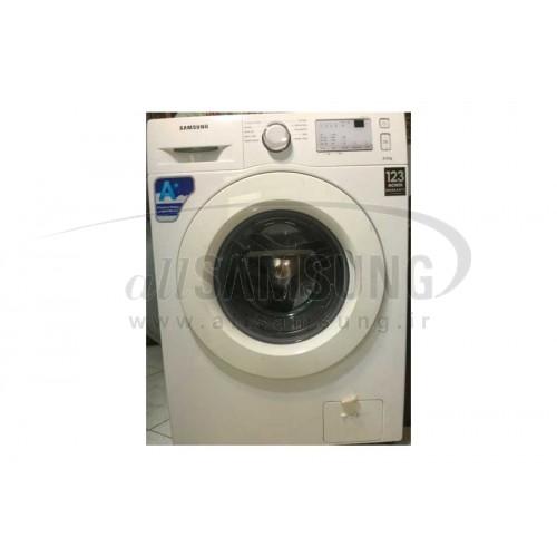 ماشین لباسشویی سامسونگ 6 کیلویی B1242 تسمه ای سفید دست دوم Samsung Washing Machine 6kg B1242 White Second Hand