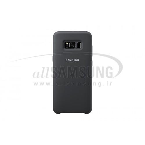 گلکسی اس 8 سامسونگ سیلیکون کاور مشکی Samsung Galaxy S8 Silicone Cover Black