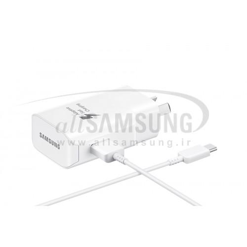 شارژر مسافرتی یو اس بی Type-C سامسونگ Samsung Travel Adaptor EP-TA300CW