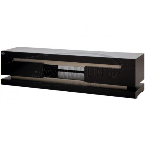 میز تلویزیون سامسونگ مدل R608 مشکی نقره ای Tv Stand R608 Black Silver