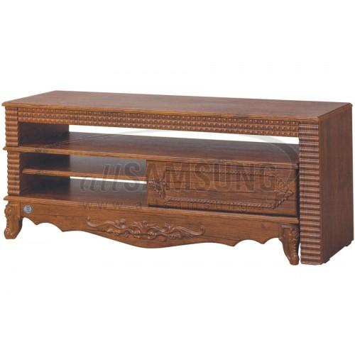 میز تلویزیون سامسونگ مدل R722 آنتیک کاج Tv Stand R722 Antique Kaj