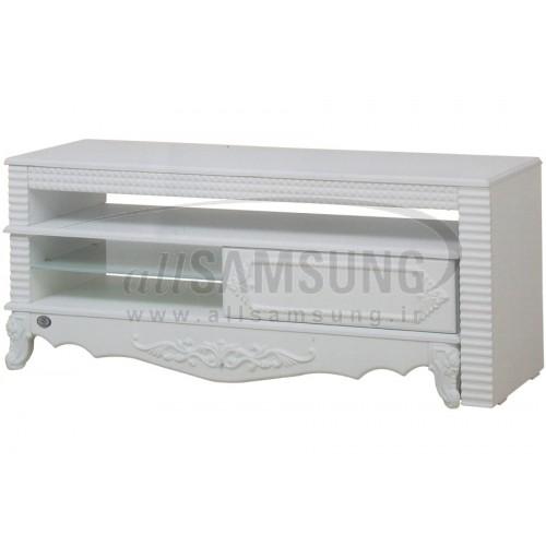 میز تلویزیون سامسونگ مدل R722 سفید صحرایی Tv Stand R722 Desert White