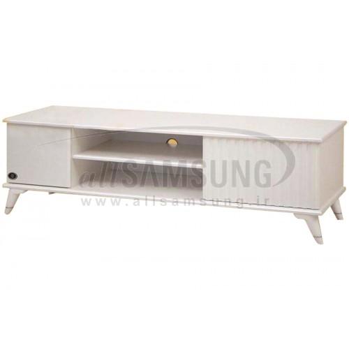 میز تلویزیون سامسونگ مدل R734 سفید لیزری Tv Stand R734 Laser White