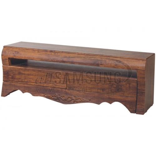 میز منحنی تلویزیون سامسونگ مدل R808 آنتیک کاج Tv Stand R808 Antique Kaj Curve