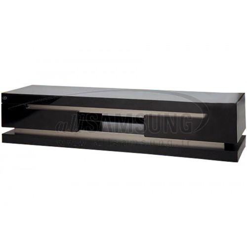میز تلویزیون سامسونگ مدل R908 مشکی نقره ای Tv Stand R908 Black Silver