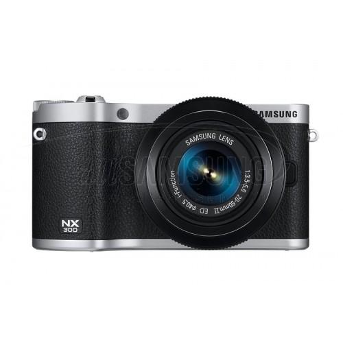دوربین دیجیتال سامسونگ هوشمند سری NX مشکی Samsung Smart Camera NX-300 Black