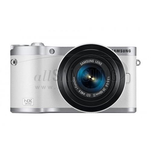 دوربین دیجیتال سامسونگ هوشمند سری NX سفید Samsung Smart Camera NX-300 White
