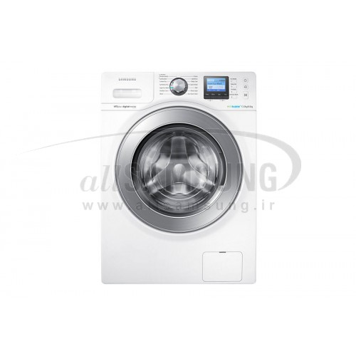 ماشین لباسشویی سامسونگ 12 کیلویی تسمه ای سفید Samsung Washing Machine 12kg H145 White