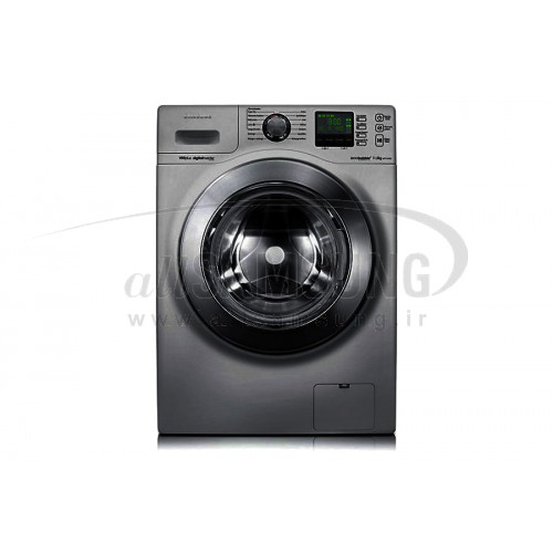 ماشین لباسشویی سامسونگ 11 کیلویی تسمه ای اینوکس Samsung Washing Machine 11kg H144 Inox