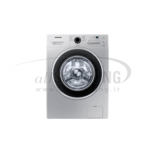 ماشین لباسشویی سامسونگ 7 کیلویی تسمه ای نقره ای Samsung Washing Machine 7kg J1241 Silver