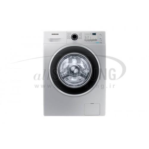 ماشین لباسشویی سامسونگ 8 کیلویی 1255 تسمه ای نقره ای Samsung Washing Machine 8kg Q1255 Silver