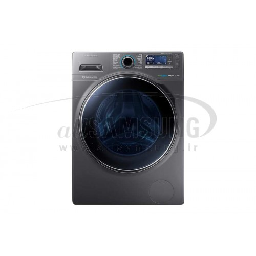 ماشین لباسشویی سامسونگ 12 کیلویی تسمه ای اینوکس Samsung Washing Machine 12kg H146 Inox