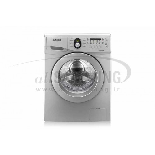 ماشین لباسشویی سامسونگ 7 کیلویی تسمه ای J1235 نقره ای Samsung Washing Machine 7kg J1235 Silver