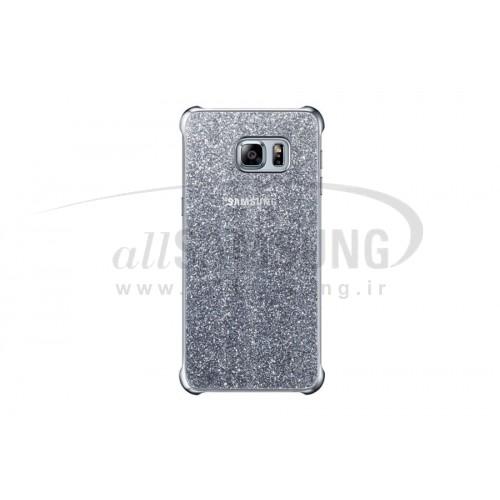 گلکسی اس 6 اج پلاس سامسونگ گلیتر کاور نقره ای  Samsung Galaxy S6 edge Plus Glitter Cover Silver
