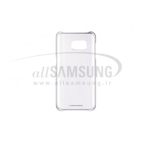 گلکسی اس 7 سامسونگ کلیر کاور نقره ای Samsung Galaxy S7 Clear Cover Silver