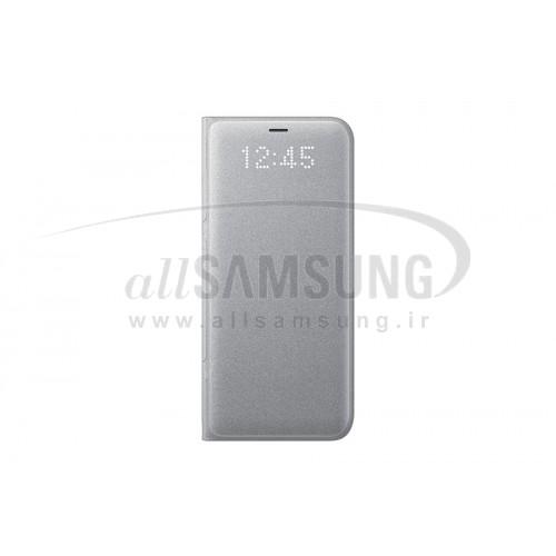 گلکسی اس 8 سامسونگ ال ای دی ویو کاور نقره ای Samsung Galaxy S8 LED View Cover Silver EF-NG950PS