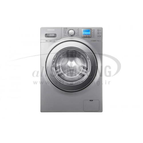 ماشین لباسشویی سامسونگ 12 کیلویی تسمه ای H145 نقره ای Samsung Washing Machine 12kg H145 Silver