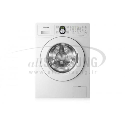 ماشین لباسشویی سامسونگ 7 کیلویی تسمه ای J1245 سفید Samsung Washing Machine 7kg J1245 White