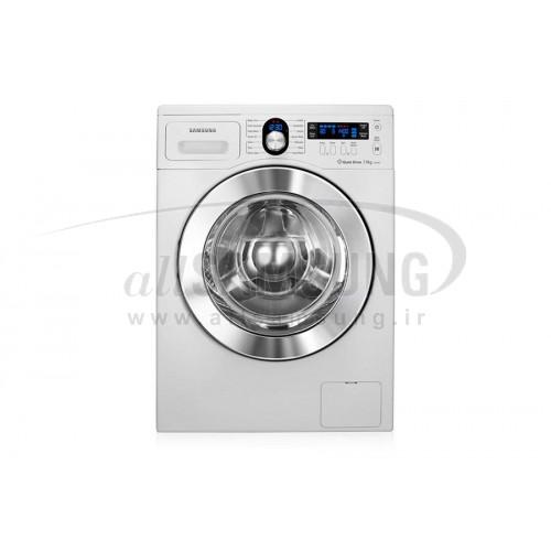 ماشین لباسشویی سامسونگ 7 کیلویی بدون تسمه J1435 سفید Samsung Washing Machine 7kg J1435 White