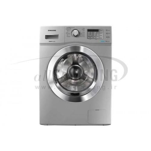 ماشین لباسشویی سامسونگ 7 کیلویی J1432 تسمه ای نقره ای Samsung Washing Machine 7kg J1432 Silver