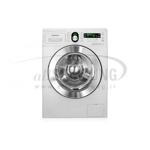 ماشین لباسشویی سامسونگ 8 کیلویی بدون تسمه Q1450 سفید Samsung Washing Machine 8kg Q1450 White