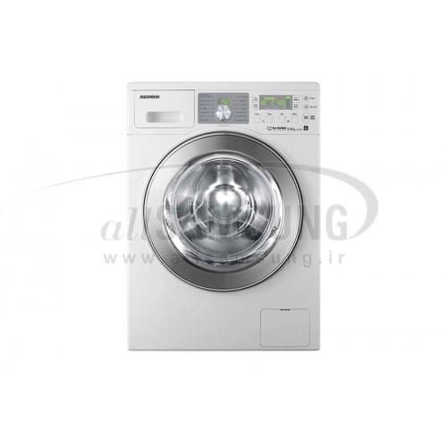 ماشین لباسشویی سامسونگ 8 کیلویی بدون تسمه سفید Samsung Washing Machine 8kg Q1455 White