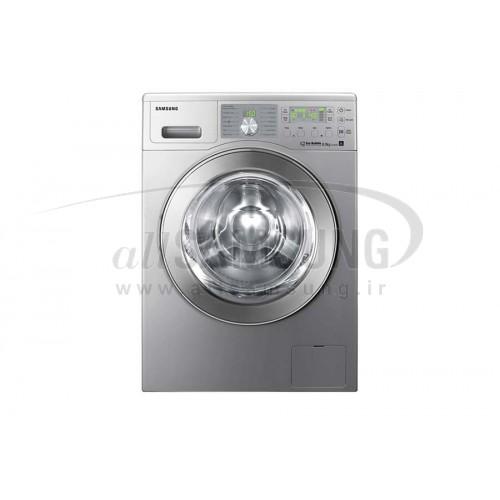 ماشین لباسشویی سامسونگ 8 کیلویی بدون تسمه نقره ای Samsung Washing Machine 8kg Q1455 Silver