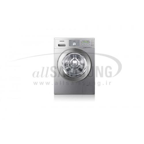 ماشین لباسشویی سامسونگ 8 کیلویی بدون تسمه نقره ای Samsung Washing Machine 8kg Q1492 Silver