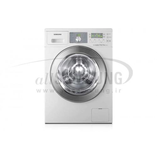 ماشین لباسشویی سامسونگ 8 کیلویی بدون تسمه Q1492 سفید Samsung Washing Machine 8kg Q1492 White