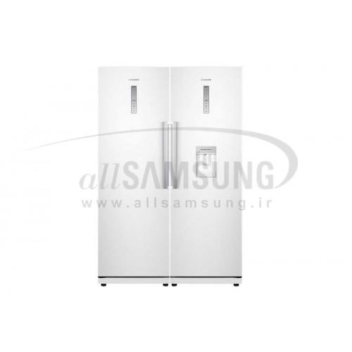 یخچال فریزر دوقلو سامسونگ 36 فوت آرآر 19 آرزد 19 سفید Samsung Twin RR19RZ19 White