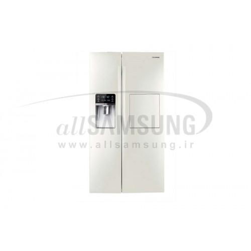 یخچال فریزر ساید بای ساید سامسونگ 32 فوت آر اس 12 سفید صدفی Samsung Side By Side RS12 White