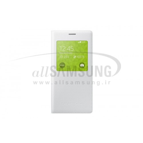 گلکسی اس 5 مینی سامسونگ اس ویو کاور سفید Samsung Galaxy S5 Mini S View Cover White