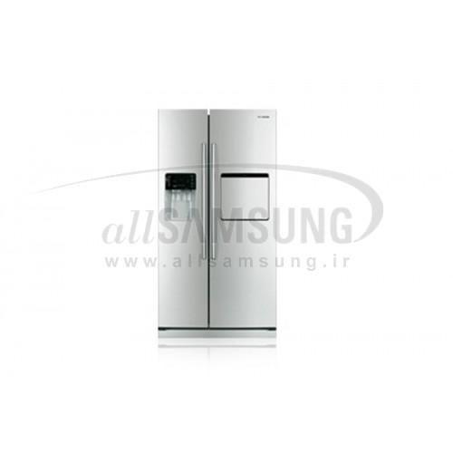 یخچال فریزر ساید بای ساید سامسونگ 23 فوت آر اس 23 کا سفید Samsung Side By Side RS23K White