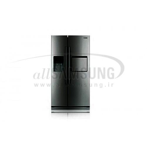 یخچال فریزر ساید بای ساید سامسونگ 23 فوت آر اس 23 کا آینه ای Samsung Side By Side RS23K Mirror