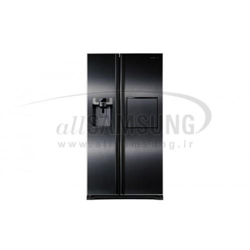 یخچال فریزر ساید بای ساید سامسونگ 27 فوت جی 26 مشکی Samsung Side By Side G26 Black
