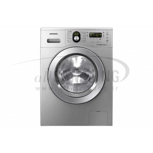 ماشین لباسشویی سامسونگ 6 کیلویی تسمه ای نقره ای Samsung Washing Machine 6kg B1225 Silver